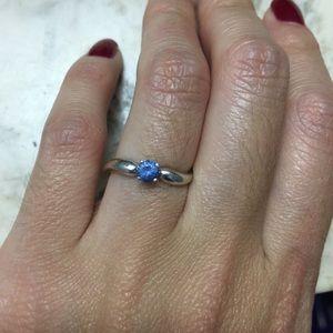 Jewelry - 14k white gold aquamarine ring